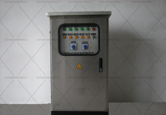 中泉一體化泵站智能不銹鋼控制柜